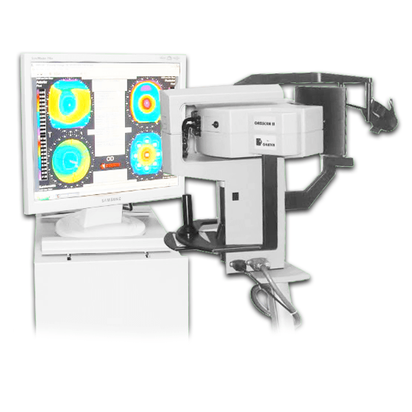 Bausch and Lomb Orbscan II Topographer