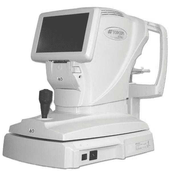 Topcon KR-800 Autorefractor Keratometer